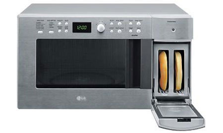 Lg S Toaster Microwave Is Space Saving Contraption