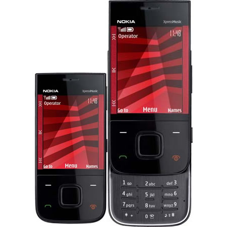 The Nokia 5330 Xpressmusic An Edgy Looking Slider Phone