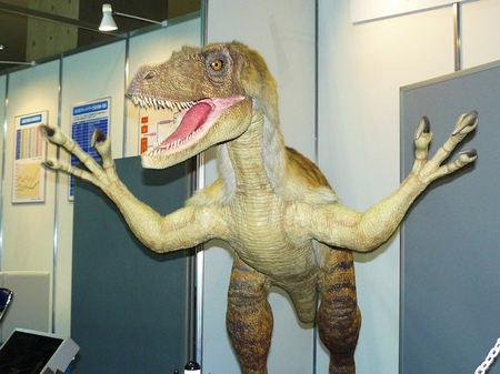 Mobile Air Compressor >> Robotic Velociraptor is scary