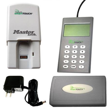 Master Lock smartTOUCH is a Fingerprint-enabled Garage ...