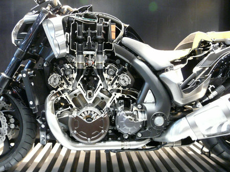 yamaha vmax 2009 the mega motorcycle dissected