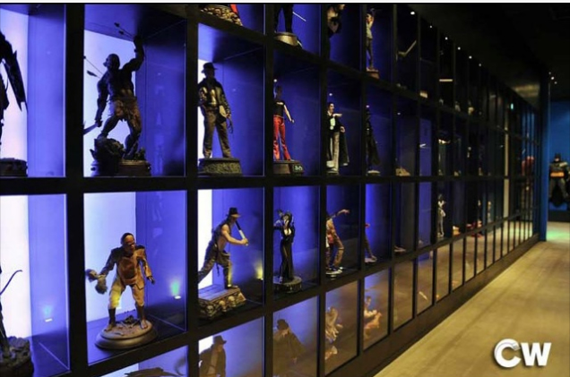 CW Restaurant, an eatery packed with action figures and statues!