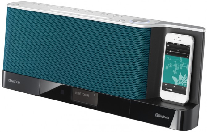 JVC Kenwood's CLX-80 speaker dock features Bluetooth, CD and