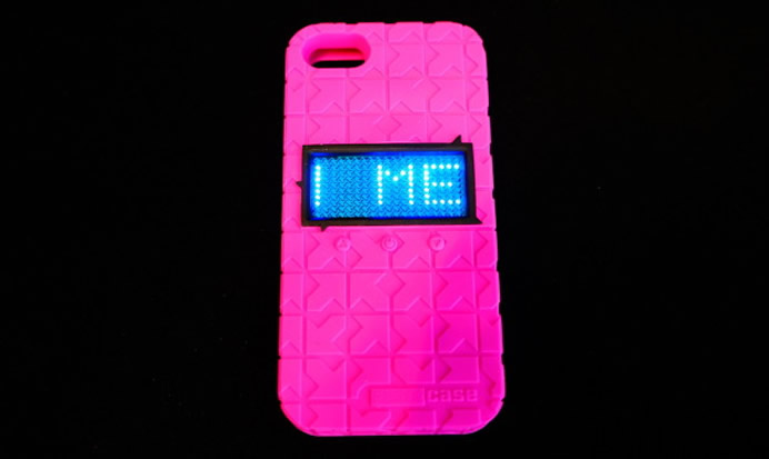 new products 4e98d dc2ab Phrazcase iPhone 5S case displays emoticons and phrases